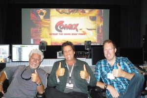 Dave Michael Brian_Sound Mix_Thumbs Up_Photo