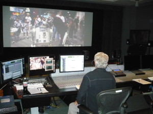 Sound Mix_Dave Concors from behind Photo