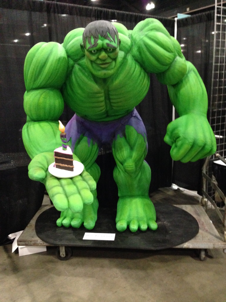 Its a Hulk of a Cake Comix The Movie
