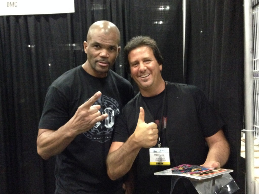 Me with hip hop legend DMC!