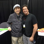 So cool meeting legendary actor James Hong!