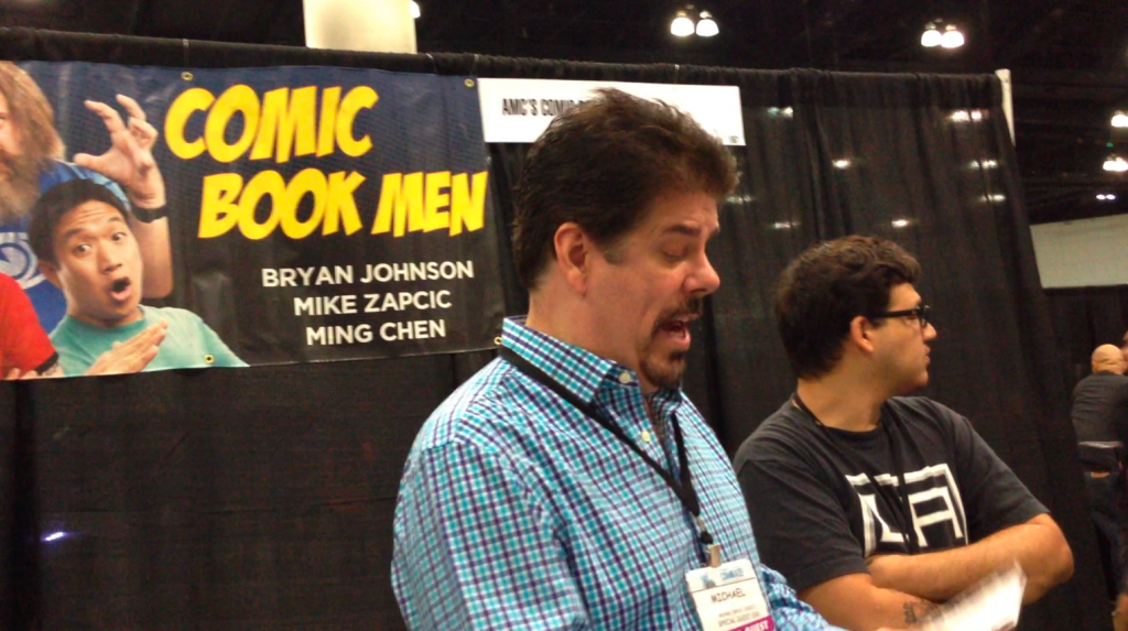 """Sharing with Mike Zapcic from """"Comic Book Men"""""""