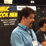 "Sharing with Mike Zapcic from ""Comic Book Men"""
