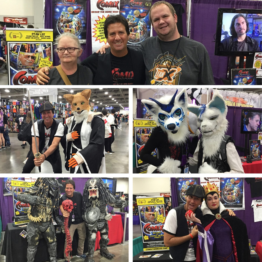 Comix the Movie at Salt Lake City Fan X Comic Con
